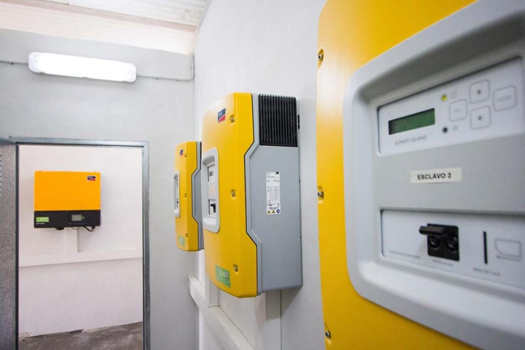 Sistema Autónomo de Energía 20 kW