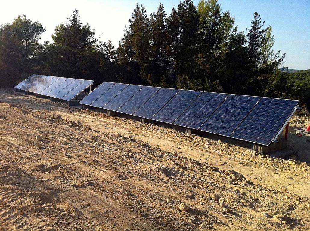Sistema de respaldo con energía solar 8,46 kW