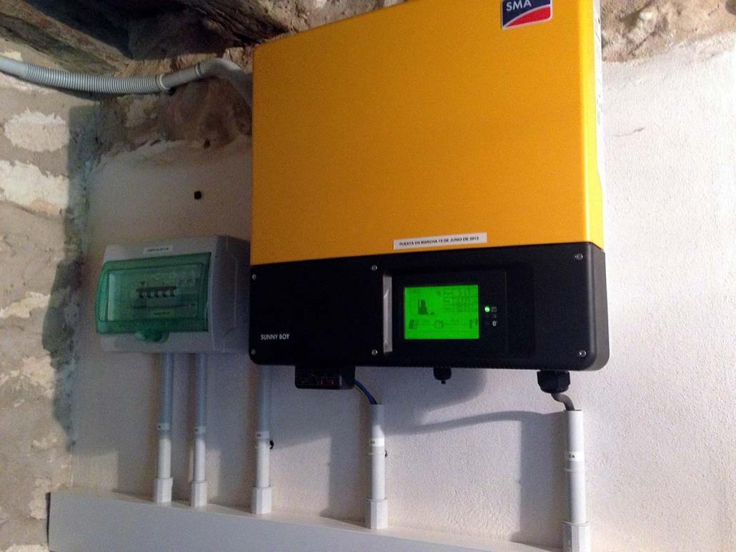 Electricidad para uso propio 3,0 kW